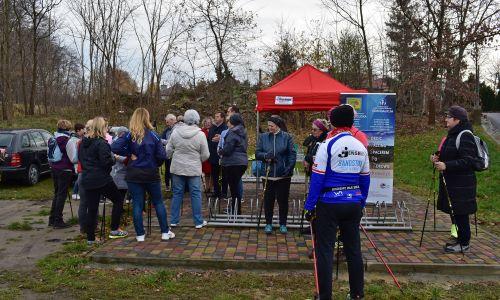 Otwarcie tras Nordic Walking w gminie Trzebownisko