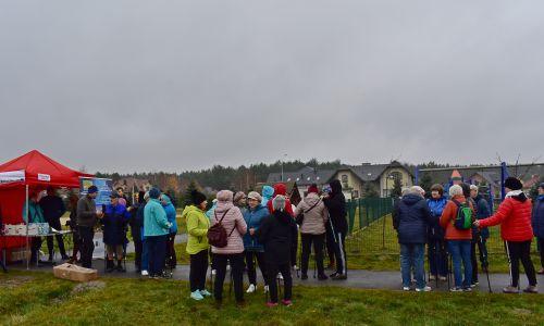 Otwarcie tras Nordic Walking w gminie Głogów Małopolski