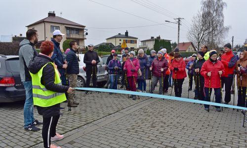 Otwarcie tras Nordic Walking w gminie Krasne