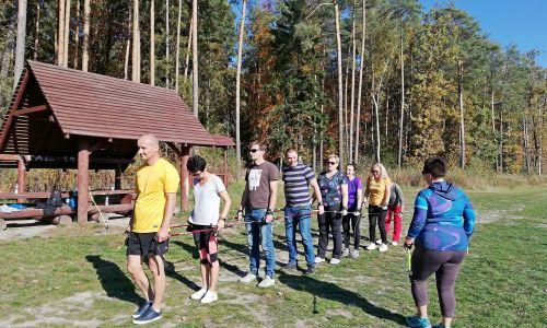 Relacja ze szkolenia na Instruktora Nordic Walking - 17.10.2019